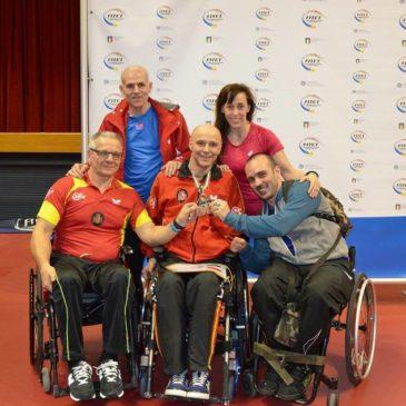 El palista de la FLM Miguel Ángel Toledo conquista la plata por equipos en el Open Internacional de Lignano