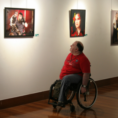Fco. Jesús García, autor de la fotografía expuesta