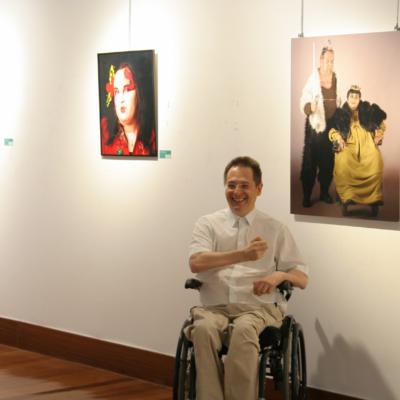 M. Ángel Mayo y su retoño fotográfico