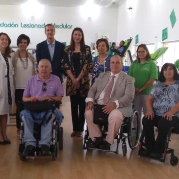 Recibimos a la Consejera de Políticas Sociales y Familia de la Comunidad de Madrid