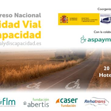 Apertura de las inscripciones del IV Congreso Nacional Seguridad Vial y Discapacidad