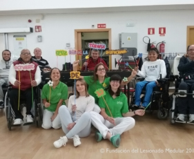 Equipo de Terapia Ocupacional en la FLM