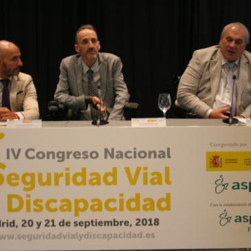 El Tercer Sector solicita mayor implicación de la administración en la Seguridad Vial de las personas con discapacidad