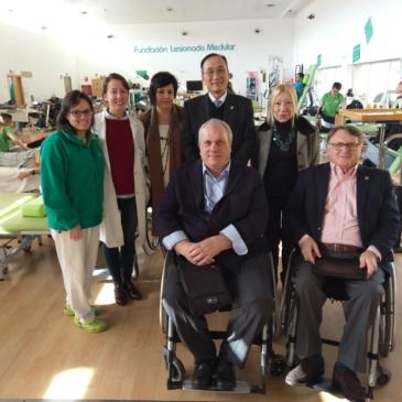Visita de la Oficina Económica y Cultural de Taipei