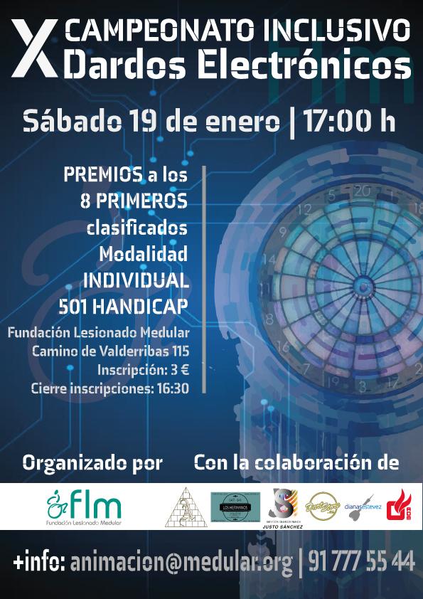 X Campeonato Inclusivo de Dardos Electrónicos