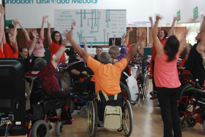 ASPAYM Madrid y FLM en el Día Nacional de la CDPD