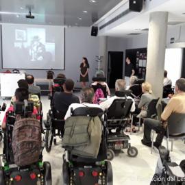 Recibimos la visita de EL ESPACIO SE ACERCA de Fundación Telefónica