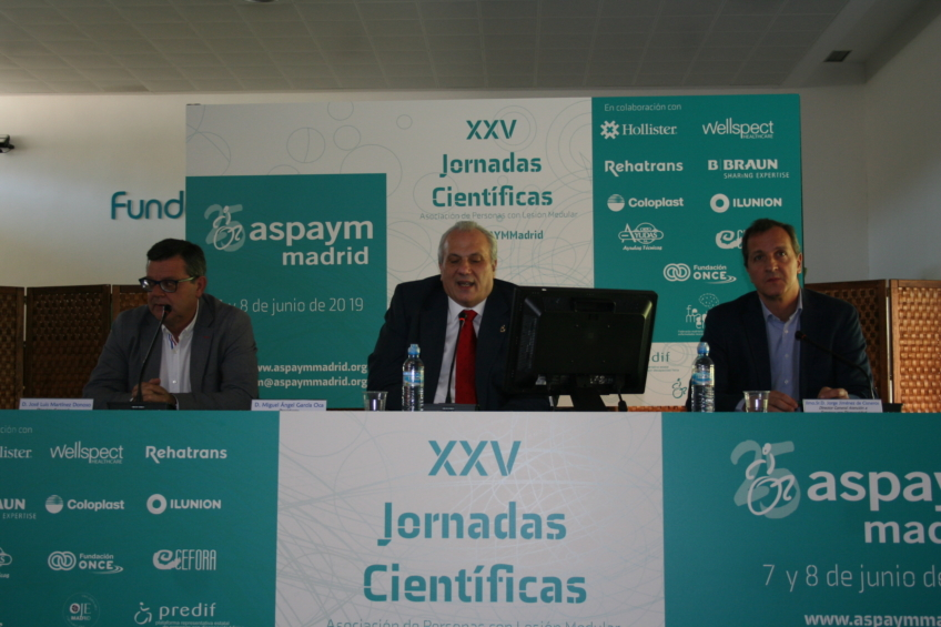 La terapia medular y el nuevo catálogo ortoprotésico a debate en las XXV Jornadas de ASPAYM Madrid