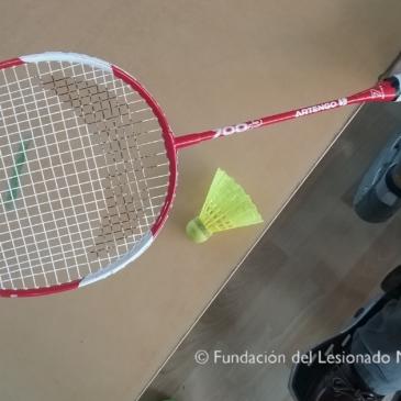 Badminton y voleibol adaptado en la FLM