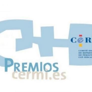 Miguel Ángel García Oca, galardonado en los premios cermi.es 2019