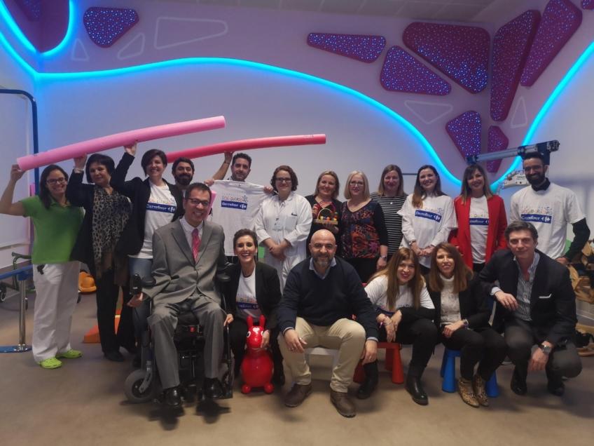 Inauguramos, junto a la Fundación Solidaridad Carrefour, nuestra Sala Multisensorial Infantil-Juvenil