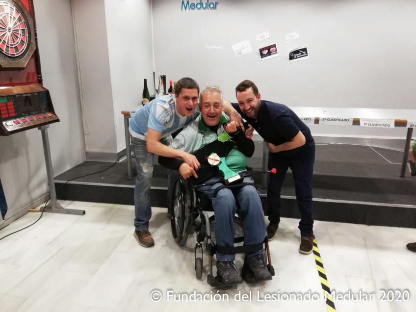 Casi 100 darderos en la XI edición del Campeonato Inclusivos de Dardos Electrónicos