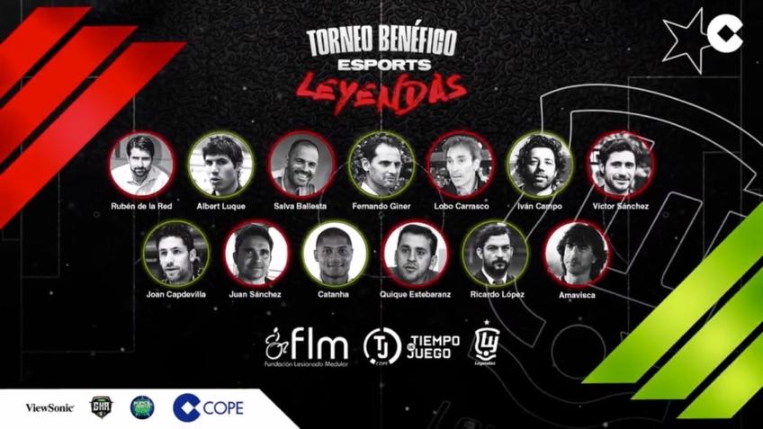 COPE y las Leyendas de «la Roja» te invitan a participar en un gran torneo de e-Sports