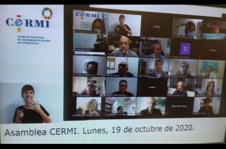 El CERMI Estatal renueva sus órganos de dirección y gobierno para los próximos cuatro años
