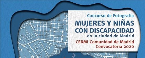 CERMI Madrid convoca un concurso de fotografía sobre Mujeres y Niñas con Discapacidad en la capital