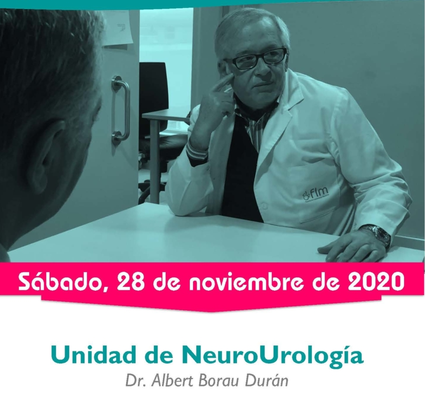 ¡Agenda abierta para la Consulta de Neurourología en noviembre!