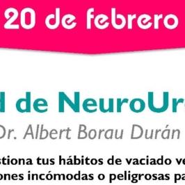 ¡Abrimos la agenda de Neuro-Urología para febrero!