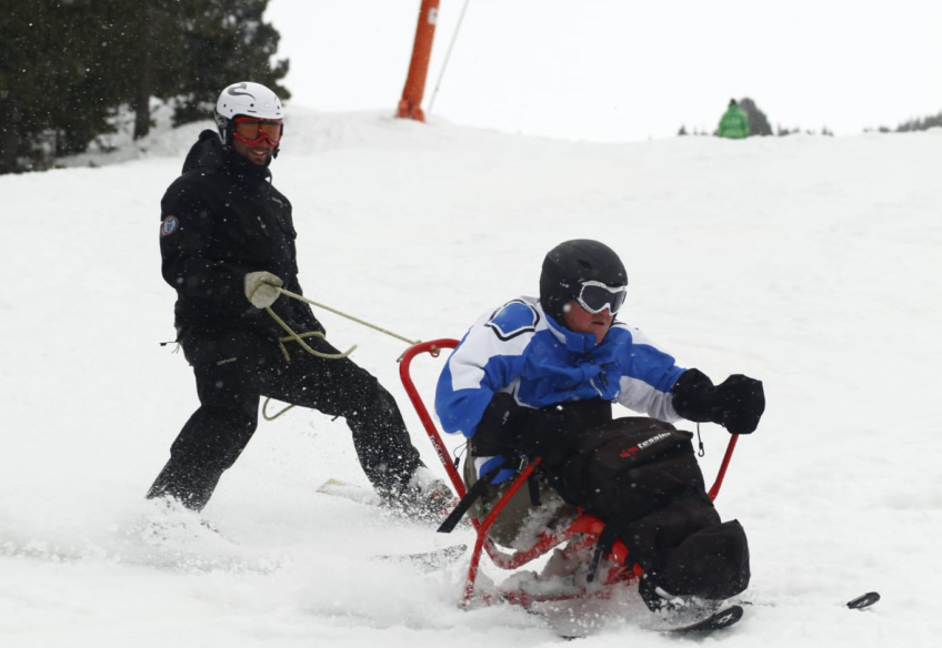 Deportes de invierno: esquí adaptado