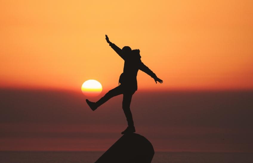 El entrenamiento del equilibrio